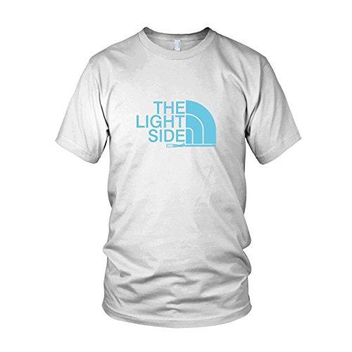 The Light Side - Herren T-Shirt, Größe: XXL, Farbe: weiß