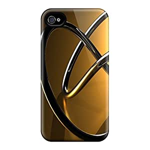 Iphone 4/4s Case Cover With Shock Absorbent Protective APKbPdK7443JSTnj Case