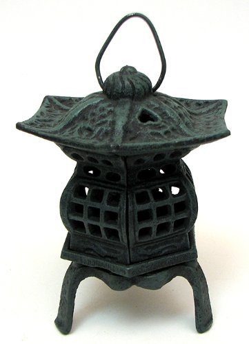 IWGAC 0170S-14019 Cast Iron Footed Pagoda -