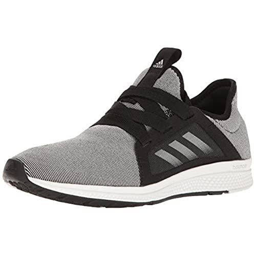 adidas Performance Women's Edge Lux W Running Shoe,  Black/White/Metallic/Silver, 8 M US