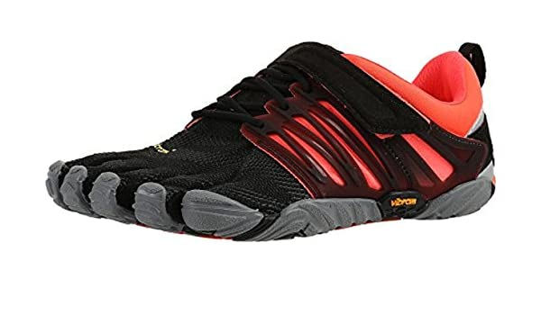 Vibram FiveFingers Womens V-Train Shoes & Toesocks Bundle
