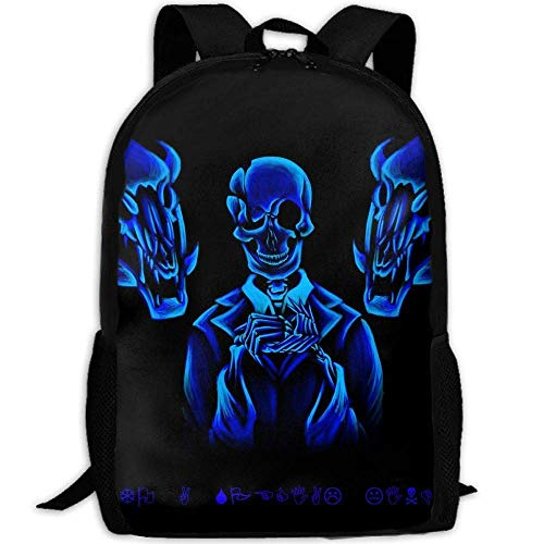 (DKFDS Backpacks Undertale Papyrus Outdoor Casual Shoulders Multipurpose Backpack Shoulder)