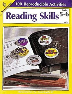 FRANK SCHAFFER PUBLICATIONS READING SKILLS GR. 5-6 100+ ()