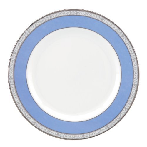 - Lenox Marchesa Couture Butter Plate, Sapphire Plume