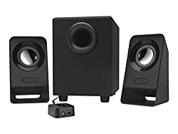 Logitech Multimedia 2.1 Speakers Z213 For Pc & Mobile Devices