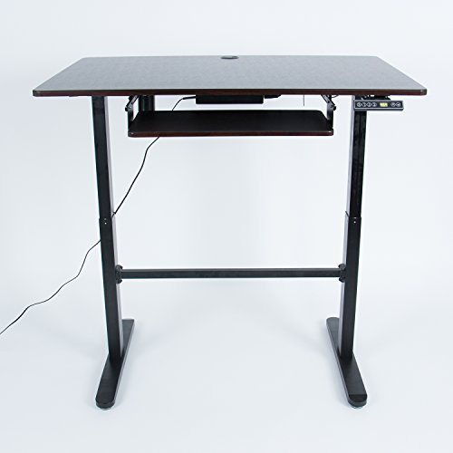 (Work Up XAFD-A1 Double Pedestal Single Motor Electric Adjustable Stand Desk)