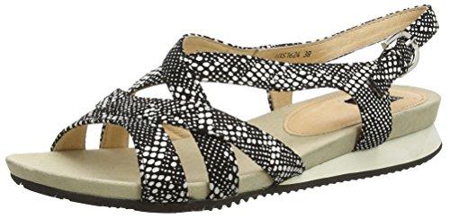 Sandales 1 Noir Femme Black Jycx15pr101 Giudecca Ouvertes E5 aqwzExA7
