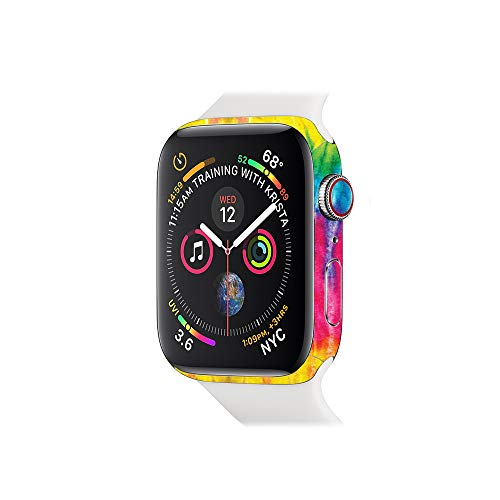 (MightySkins Skin Compatible with Apple Watch Series 4 44mm - Tie Dye 2 | Protective, Durable, and Unique Vinyl Decal wrap Cover | Easy to Apply, Remove, and Change Styles | Made in The USA)