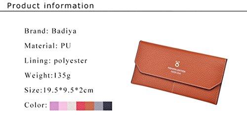 Badiya - Cartera de mano para mujer Woman, marrón (marrón) - WW05316BN rosa