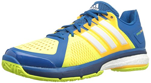 adidas Performance Men's Energy Boost Tennis Shoe Unity Blue/White/Electricity 11 M US
