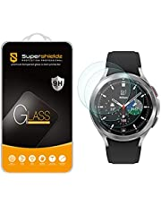 (3 Pack) Supershieldz Designed for Samsung Galaxy Watch 4 Classic (46mm) Tempered Glass Screen Protector, Anti Scratch, Bubble Free