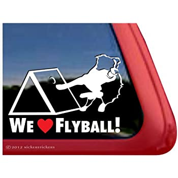 "5.75/"" I LOVE MY BORDER COLLIE vinyl decal sticker. dog"