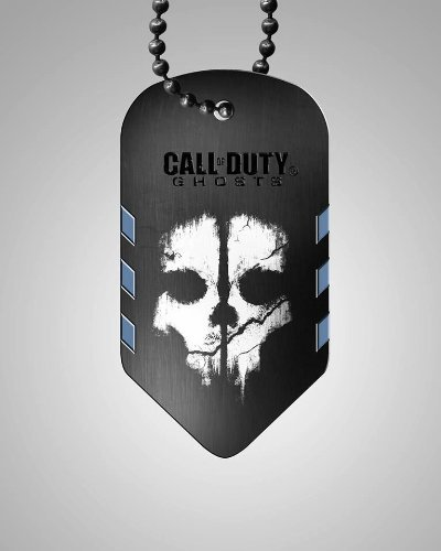 Call of Duty Ghosts Dog Tag Limited Edition 2013 Pre-Release