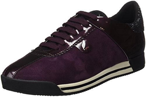 Sneakers Low Chewa Prune a Geox Top Women's D Purple wg61qZYA