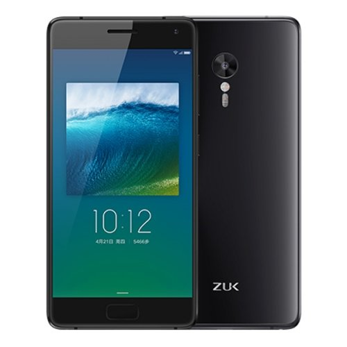 Lenovo ZUK Z2 Pro 128GB 5.2 Inch Android 6.0 Smartphone, Qualcomm Snapdragon 820 Kryo Quad Core 2.15GHz, 6GB RAM GSM & WCDMA & FDD-LTE (Black)