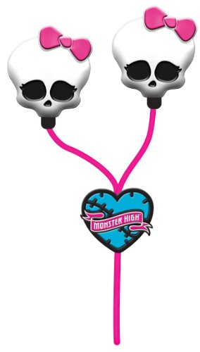 Monster High Skull Earbuds - Pink (11348) - Style May Vary
