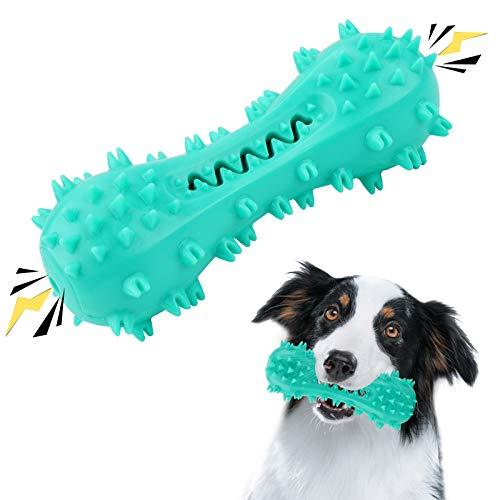 SNUNGPHIR Hundespielzeug Hundezahnbürste Hundezahnpflege Spielzeug Langlebiges Kauspielzeug für Zahnpflege…