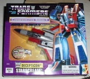 Transformer G1 Commemorative Series II STARSCREAM Reissue by Transformers (Reissue Starscream)
