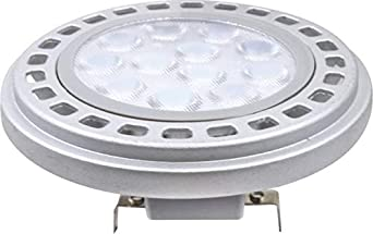 12W, G53, Capacidad 12V AR111LED Bombilla Blanco Neutro 4000KELVIN 900lúmenes (12V LED transformador se necesita)