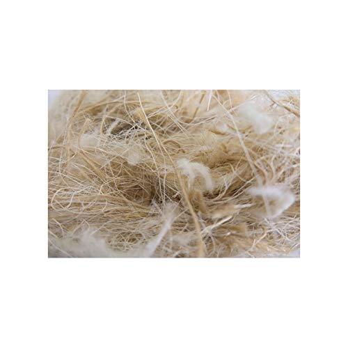 Sisal, Pelo, Juta y algodón 250 gr, litera para roedores