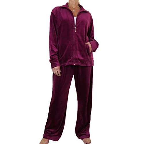 3215cec07bb durable modeling ICE (6475-4) Plus Size Fuller Figure Womens Luxurious  Velour Tracksuit