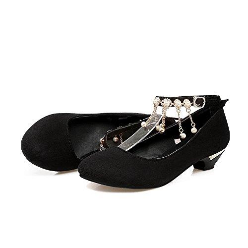 Compensées Compensées Femme Noir Noir Balamasa Balamasa Femme Balamasa Sandales Sandales BT0q1W1P