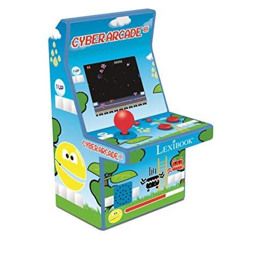 Lexibook JL2950 Consola Cyber Arcade, 300 juegos a buen precio