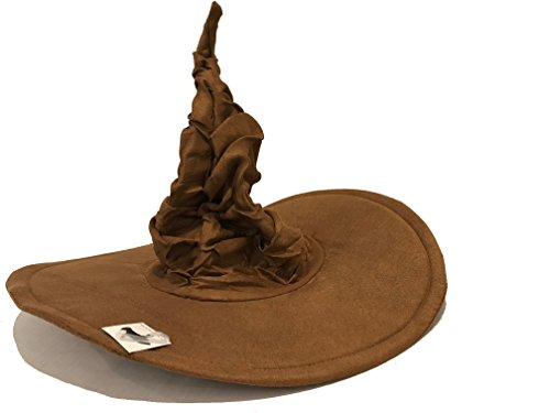 HalloweenAroundCorner.com Brown Wizard's Sorting Hat