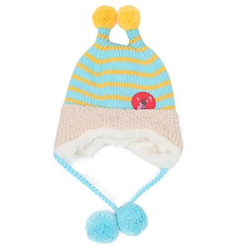 9ea987e73 50%OFF Sombrero de bebé Tapa para niños Chicos Chicas Otoño invierno  Calentar Gorro Bolsillo
