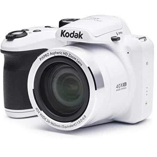 Kodak AZ401-WH PIXPRO 16MP Digital Camera, 3″, White
