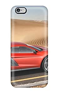 Flexible PC Back Case Cover For Iphone 6 Plus - Audi Concept 20 by ruishername