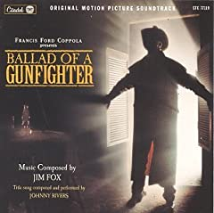 The soundtrack to director Christopher Coppola's 1998 TV-movie features a swarthy, evocative Morricone-influenced score by Jim Fox.