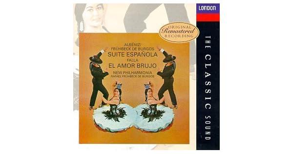 Amazon.com: Albéniz: Suite Española; Falla: El Amor Brujo ...