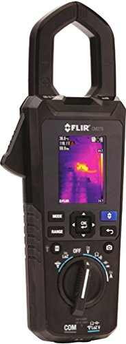 FLIR CM275-NIST Industrial Thermal Imaging Clamp Meter with Datalogging, Wireless Connectivity, IGM & NIST