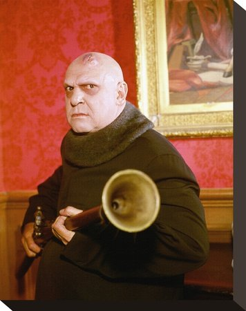 Jackie Coogan as Uncle Fester Poster