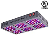 VIPARSPECTRA UL Certified 900W LED Grow Light, with Veg and Bloom Switches, Full Spectrum Plant Growing Lights for Indoor Plants Veg and Flower
