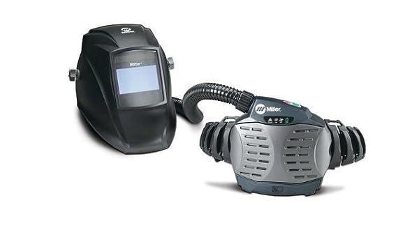 Miller 247533 - Respirador purificador de aire con casco Elite ...