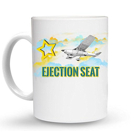 - EJECTION SEAT Aviation Pilot Mug - 11 Oz. Unique Coffee Mug, Coffee Cup