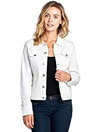 Amazon Com Whites Denim Jackets Coats Jackets Vests