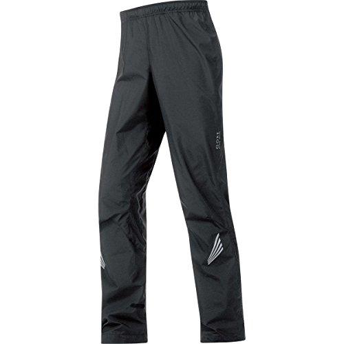 (GORE BIKE WEAR Men's Long Cycling Rain Overpants, GORE WINDSTOPPER, ELEMENT WS AS Pants, Size S, Black, PWELEM)