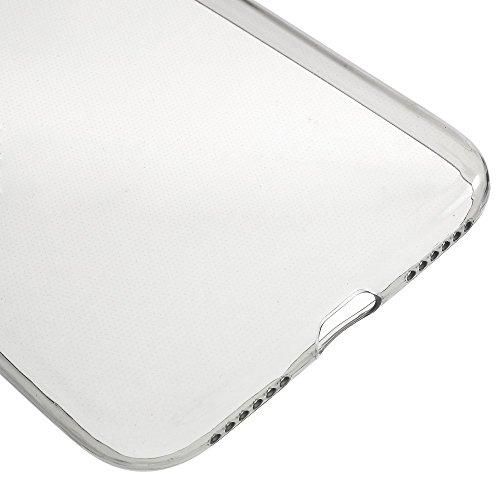 Apple iPhone 7Sac étui Cover Case de protection ultra slim gris decui Gris/TPU Coque en gel