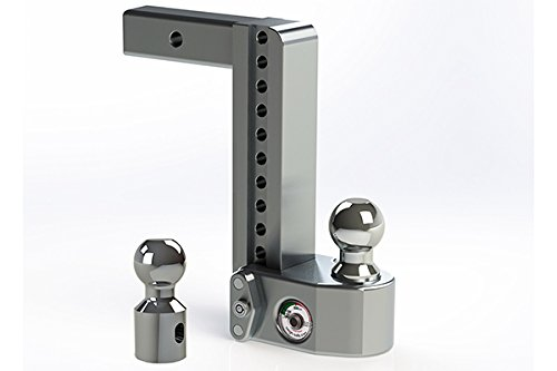 """Weigh Safe WS10-2 Adjustable Ball Mount with 10"""" drop and 2"""" Shank"""