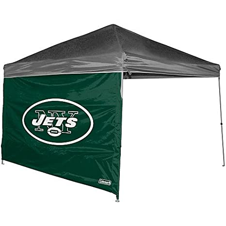 NFL New York Jets Straight Leg Canopy Wall 10 x 10 Green  sc 1 st  Amazon.com & Amazon.com : NFL New York Jets Straight Leg Canopy Wall 10 x 10 ...