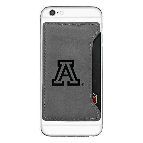 LXG, Inc. University of Arizona-Cell Phone Card Holder-Grey