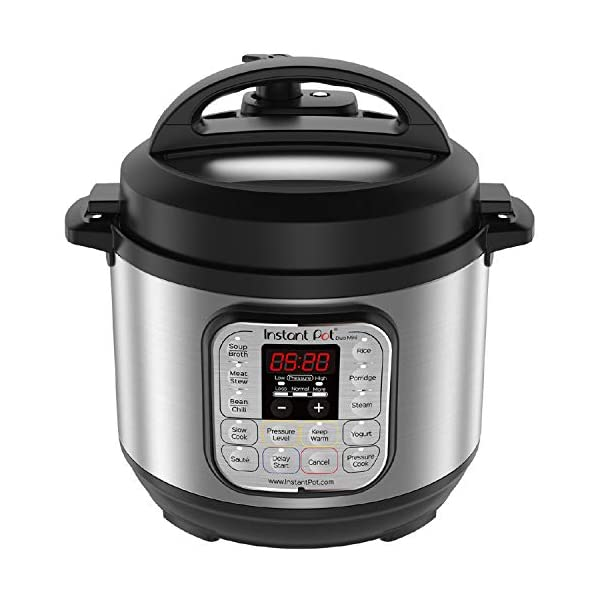 Instant Pot Duo Mini 3 Qt 7-in-1 Multi- Use Programmable Pressure Cooker, Slow Cooker, Rice Cooker, Steamer, Saute… 1