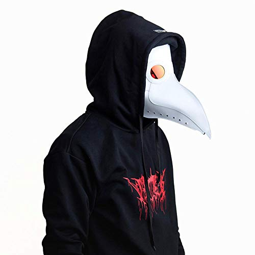 FOONEE Plague Doctor Mask Halloween Mask Beak Mask for Carnival, Masquerade, Halloween, Costume -