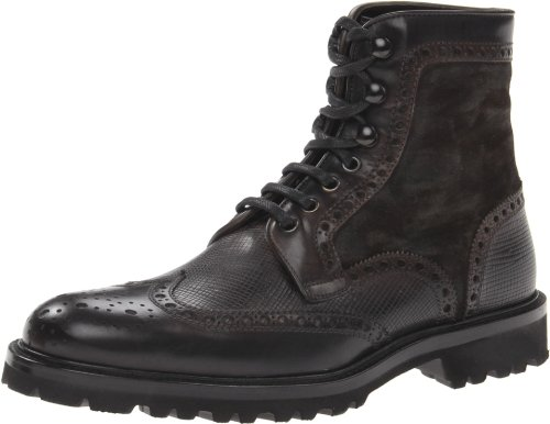Magnanni Men's Enzo Boot,Grey,10.5 M US