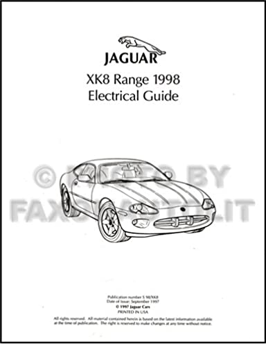 4183IOd2ecL._SX384_BO1204203200_ 1998 jaguar xk8 electrical guide wiring diagram original jaguar
