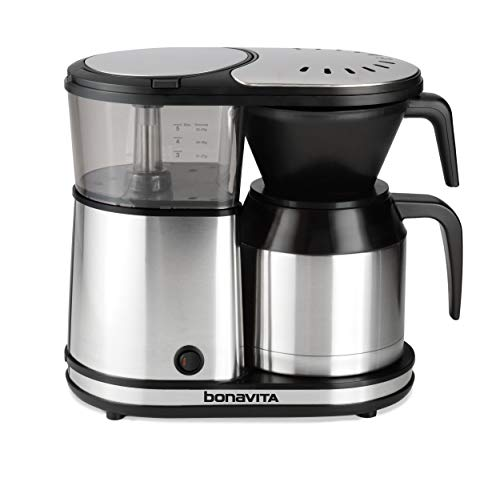- Bonavita 5-Cup One-Touch Coffee Maker Featuring Thermal Carafe, BV1500TS