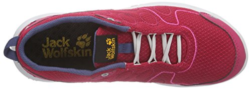 Jack Wolfskin Monterey Ride Low W Damen Sneakers Pink (azalea red 2081)